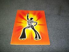 Saturday Night Fever-Australian Tour Programme