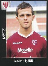 254 MIRALEM PJANIC ROOKIE BOSNIA FC.METZ JUVENTUS STICKER FOOT 2008 PANINI
