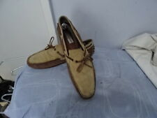 Steve Madden mens slip on mocassin loafer 100% Suede leather UK 9 GREAT COND