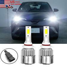 9012 Led Headlight Bulb for Toyota Rav4 2016-2020 High Low Beam Bright 6000K 2x (Fits: Hyundai)