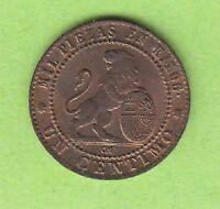 Spanien 1 Centimo 1870 toll erhalten besser als vz nswleipzig