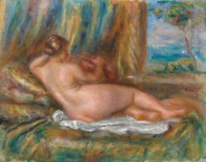 Renoir Auguste Pierre Nude Woman Print 11 x 14  #1761