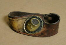 Very Old Leather Sailor's Palm with Brass Star