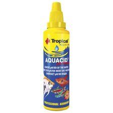 TROPICAL AQUACID pH MINUS  for lowering the aquarium water pH value 500ml
