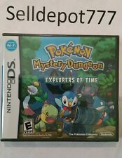 Brand New Pokémon Mystery Dungeon: Explorers of Time (Nintendo DS, 2008)