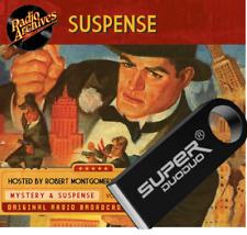 Suspense Old Time Radio Show OTR 909 Episodes - 32gb USB Flash Drive