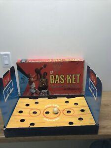 1966 Cadaco Bas-Ket Real Basketball In Miniature - VINTAGE