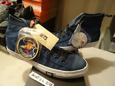 NEW RARE Converse POORMAN WEAPON HI X UNDEFEATED NAVY DENIM 124131 SZ 12
