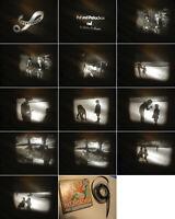 Pat & Patachon 8 mm Film Comedy/Slapstick.Auf Schlittschuhe-Antique Comedy Films