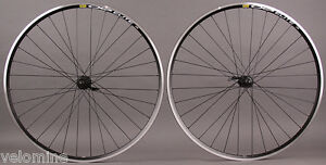 New Mavic CXP Elite Shimano Tiagra Hubs Black Road Bike Wheelset 8 9 10 11 Speed