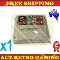 1x Thick GAME CART PROTECTOR Case For SNES Super Nintendo Games