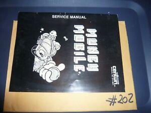 Centuri Munch Mobile Arcade Operating Manual
