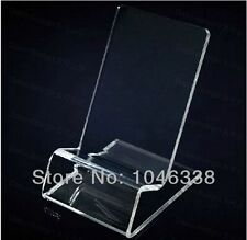 40x Acrylic Mobile Phone Display Holder Cellphone Stand for iphone retail Mounts