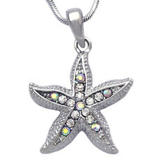Starfish Bridesmaid Flower Girl Necklace Wedding Anniversary Bridal Jewelry