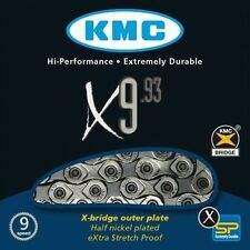KMC X9-93 Silver 9 Speed Bicycle Chain 116l Links