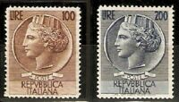 Italy Sc 661 to 662 MINT NH  VF