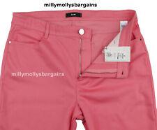 Neues AngebotNEU Damen Marks & Spencer Per Una Pink Slim Jeans Größe 16 Petite defekt Label F