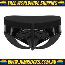 Black Rubber Jockstrap - Fetish, Underwear, Gay *FREE WORLDWIDE SHIPPING*