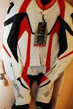 tuta da moto professionale in pelle Taglia 54 Divisibile, Nuova, Originale Suomy