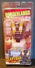 BORDERLANDS CLAPTRAP aka CL4P-TP figure NECA Yellow Version NRFP! MINT!