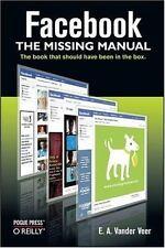 Missing Manual: Facebook by E. A. Vander Veer (2008, Paperback)
