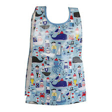 Gisela Graham Nautical Apron Tabard PVC Wipe Clean Messy Play Childrens boys