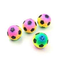 1PC Colorful Mini Football Squeeze Foam Ball Stress Relief Vent Ball Kids Toy HF