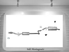 Auspuffanlage Peugeot 207, CC, SW 1.4 1.6 16V 70/72/80/88KW Auspuff Montagesatz