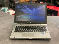HP ELITEBOOK 8470p Core i5 CPU, 250GB Solid State, 16GB RAM, WIN 10 Pro, DVDRW