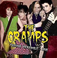 The Cramps Teenage Werewolf Live GREEN VINYL LP Record! only 500 punk trash NEW!