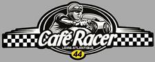 Dept 44  LOIRE ATLANTIQUE - CAFE RACER  bretagne logo sticker