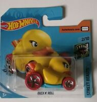 Duck N'roll Hot Wheels 2020 Case G Street Beasts 2/10 Mattel