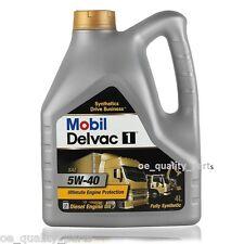 MOBIL DELVAC MOTORE OLIO MOTORE 5W40 5 W 40 5 W / 40 uomo VOLVO Heavy Duty Caterpillar