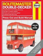 Haynes Press-Out and Build Manual Routemaster Double Decker Bus Model - NEW