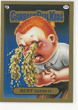 Kent Stand It 2014 Topps GARBAGE PAIL KIDS Flashback Series 3 Gold Card #55b