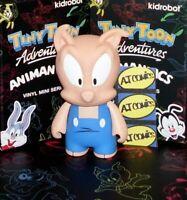 Hamton J Pig - Tiny Toon Adventures Animaniacs Kidrobot Vinyl Mini