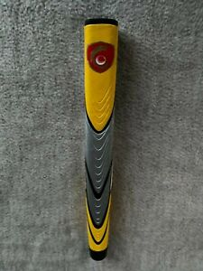 Oversize Putter Grip Brand  New Yellow/Grey