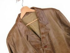 RP1953 RIVER ISLAND JACKET ORIGINAL PREMIUM GENUINE LEATHER MADE IN UK size L