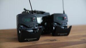 Wireless Sennheiser EW 100 Lapel System