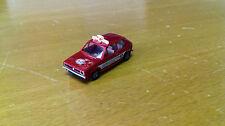 Brekina H0 VW Golf 1 AvD Rot      1669