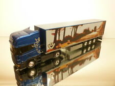 LBS ELIGOR  SCANIA 164L 500 V8 TRUCK + TRAILER - BLUE METALLIC 1:43 - EXCELLENT