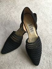 Nine West classy Lace & Leather heels  size 36.5