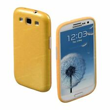 Yellow TPU Silicone Gel Case Thin Fitted Back Cover for Samsung Galaxy S3 SIII