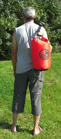 20L roll top dry bag 100% waterproof lightweight TOUGH RIPSTOP nylon with straps