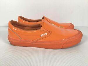 Vans Opening Ceremony Orange Round Toe Low Top Casual Sneakers M: 8.5 W: 10