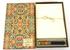Antiqua Eaton Hand Bordered Stationery with Sheaffer Kaleidoscope Ballpoint Pen