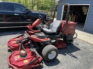 Toro Groundsmaster 3500D Sidewinder Rotary Mower - With Spare Parts & Records!