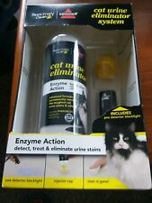 Bissell Pawsitively Clean Urine Eliminator System with black light 20 FL OZ NIB