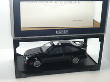 New 1:18 Norev Ford Sierra RS Cosworth WRC black n RS500 Merkur XR4ti Escort