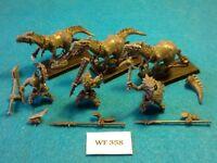 Warhammer Fantasy - Lizardmen - Saurus Cold One Cavalry x3 - WF358